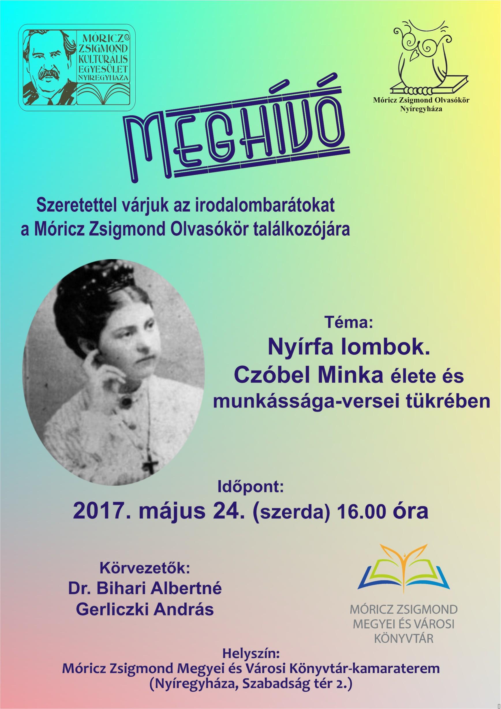 2017 05 24 MZSKE Olvasókör