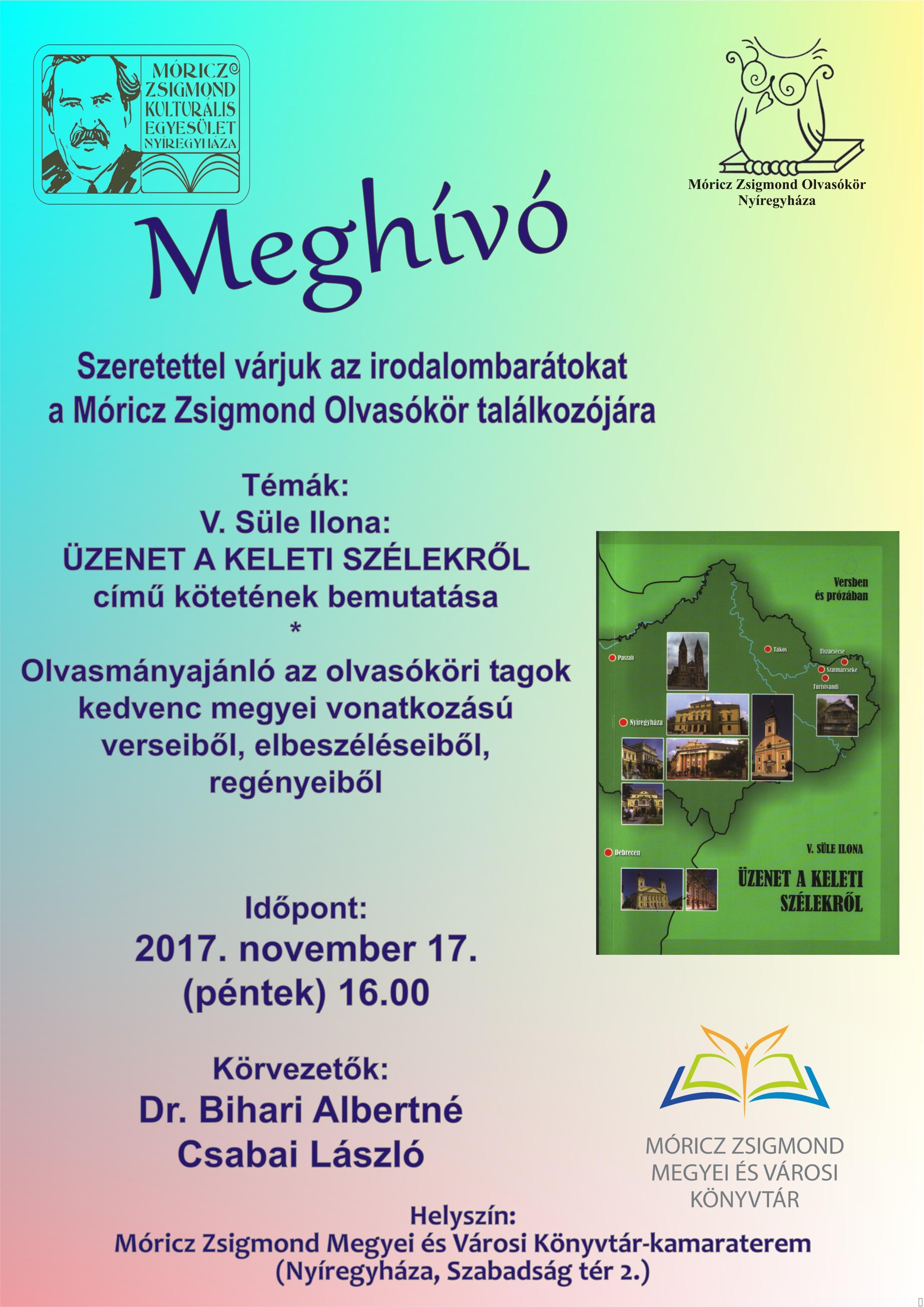 2017 11 17 MZSKE Olvasókör