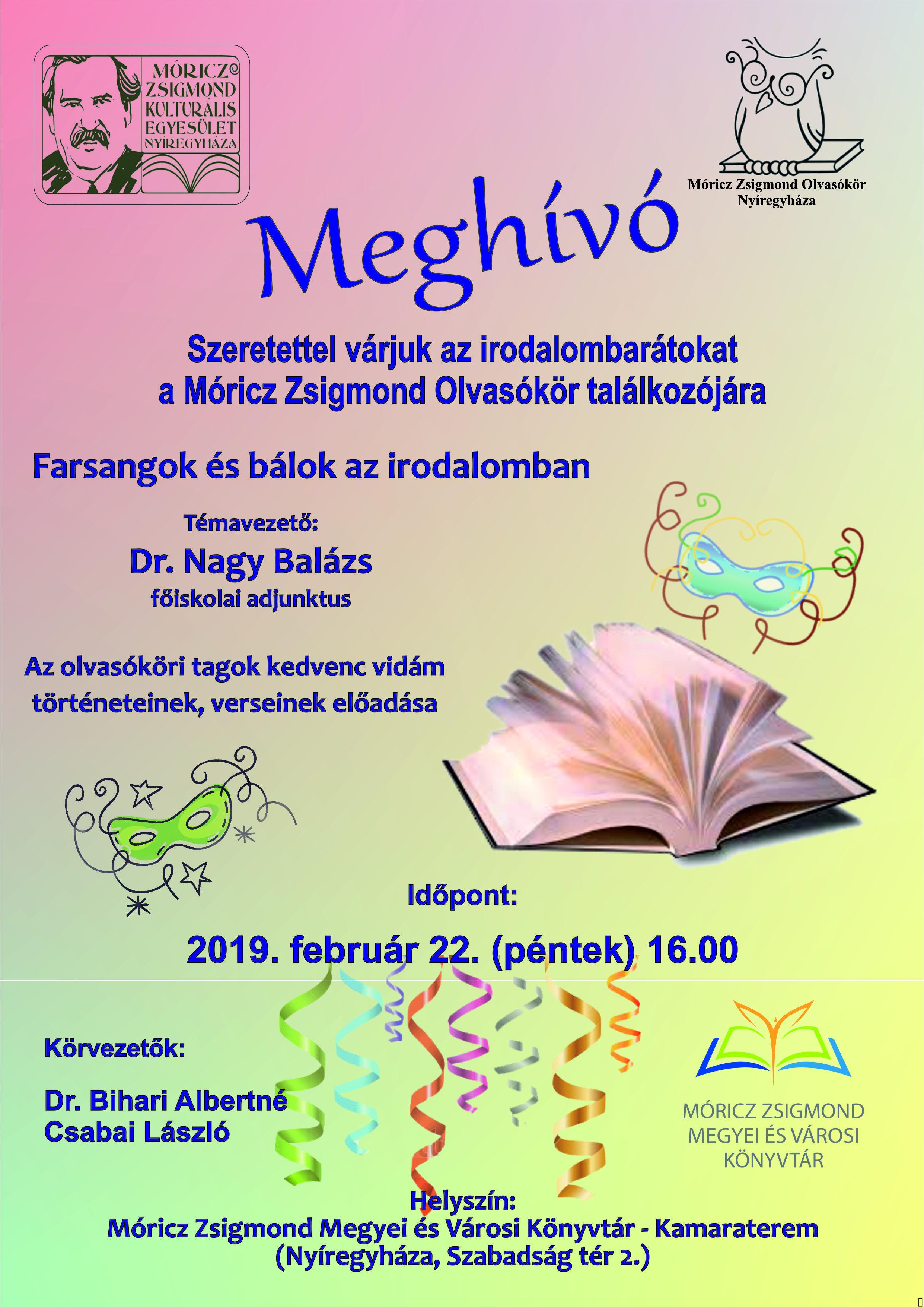 201812MZSKE olvasókör